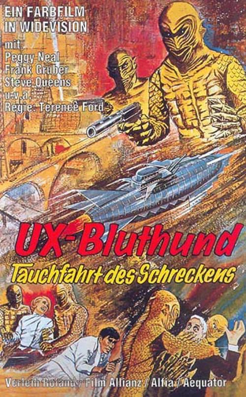 Kaitei daisenso - German Movie Poster