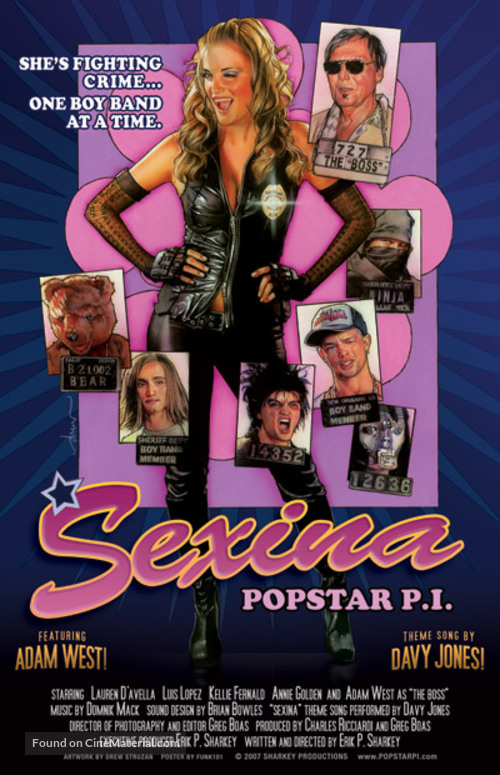 Sexina: Popstar P.I. - Movie Poster