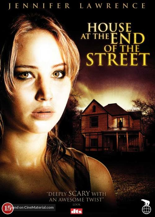 House at the End of the Street - Danish DVD cover