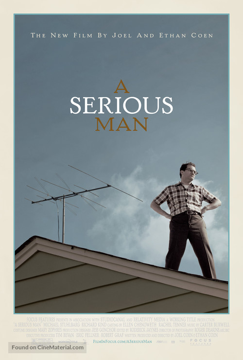A Serious Man - Movie Poster