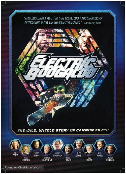 Electric Boogaloo: The Wild, Untold Story of Cannon Films - Australian Movie Poster