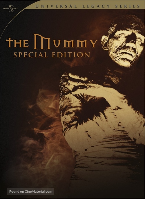 The Mummy - DVD movie cover