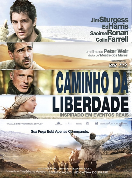 The Way Back - Brazilian Movie Cover