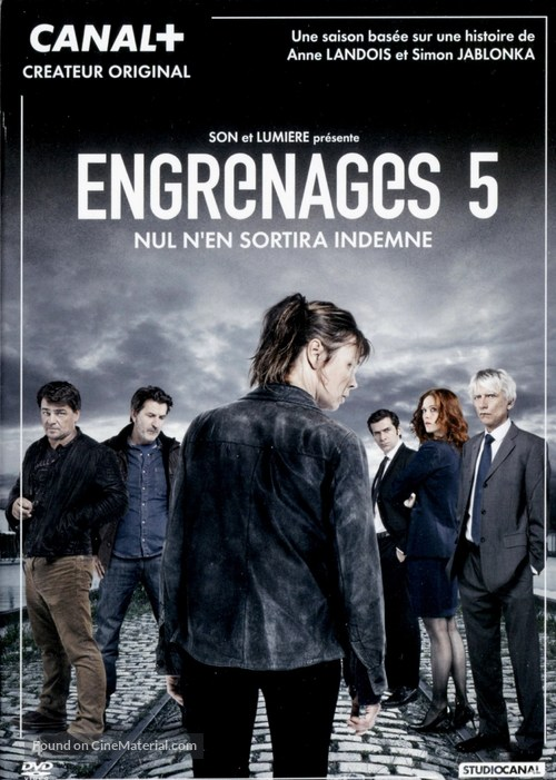 """Engrenages"" - French DVD movie cover"