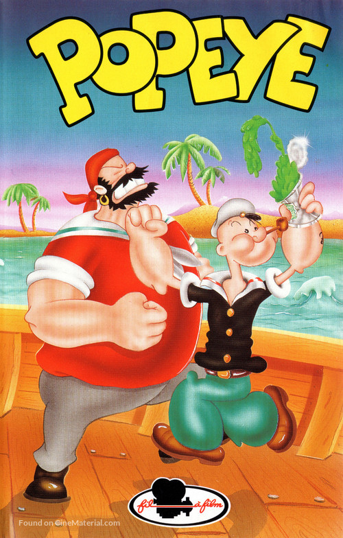 """Popeye"" - French Movie Cover"