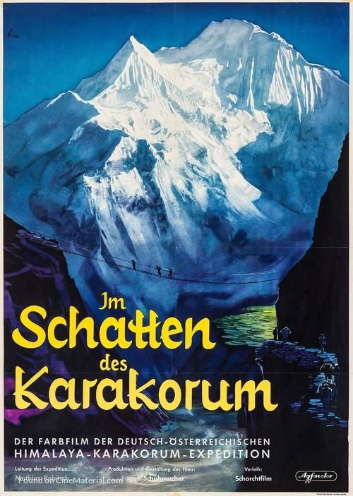 Im Schatten des Karakorum - German Movie Poster