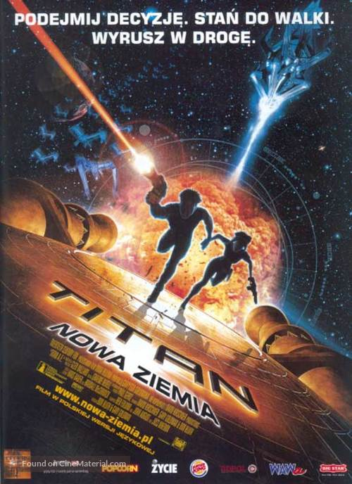 Titan A.E. - Polish Movie Poster