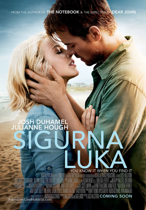 Safe Haven - Croatian Movie Poster