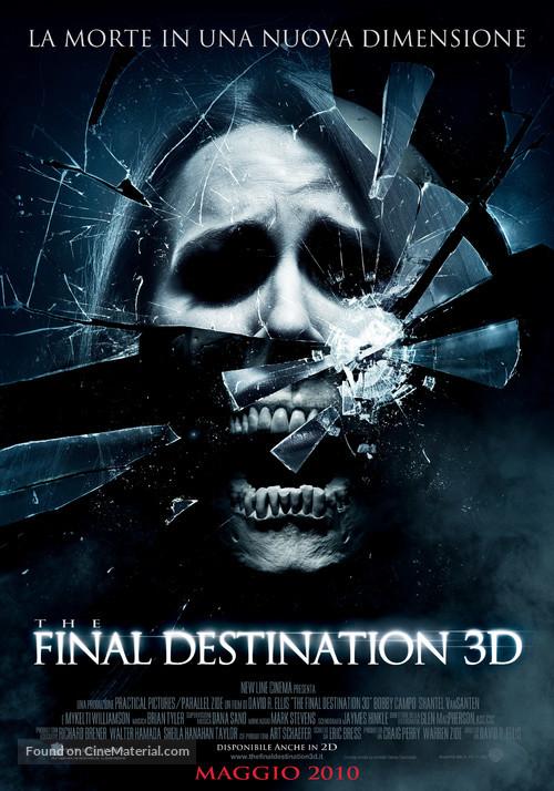 The Final Destination - Italian Movie Poster
