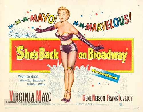 She's Back on Broadway - Movie Poster