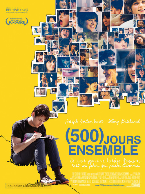 (500) Days of Summer - French Movie Poster