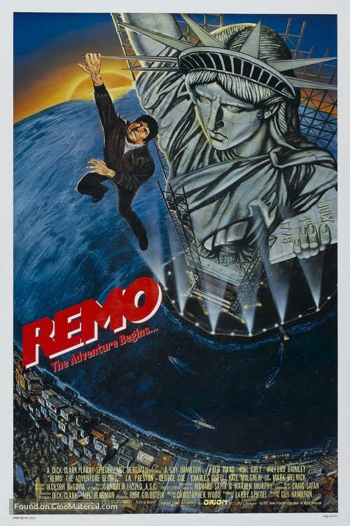 Remo Williams: The Adventure Begins - Movie Poster
