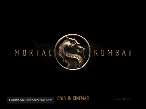 Mortal Kombat - British Movie Poster