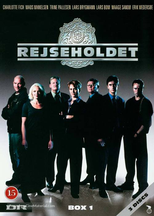 """Rejseholdet"" - Danish DVD movie cover"