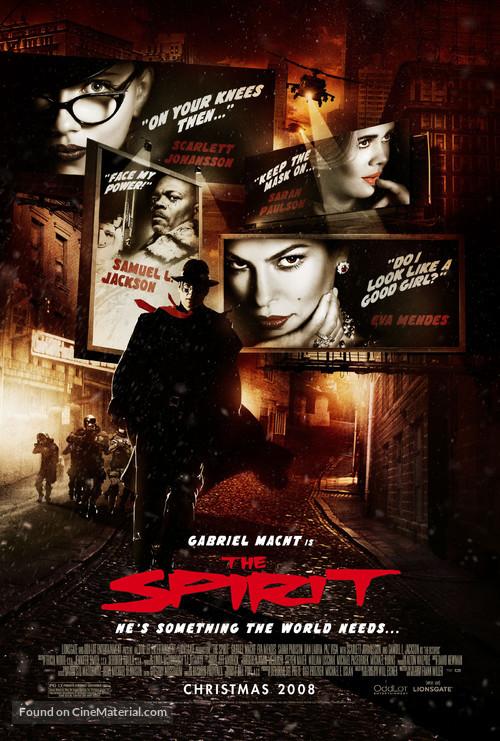 The Spirit - Movie Poster