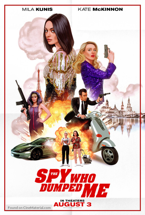 The Spy Who Dumped Me - Movie Poster