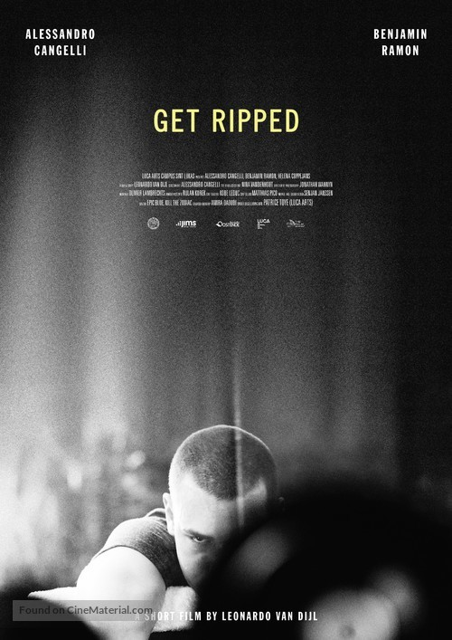 Get Ripped - Belgian Movie Poster