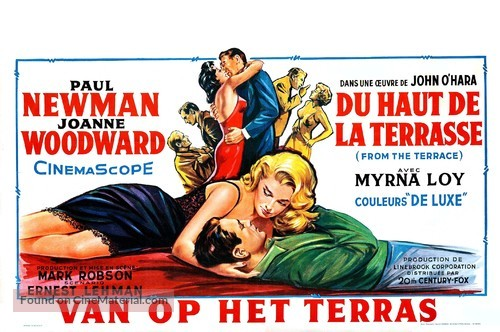 From the Terrace - Belgian Movie Poster