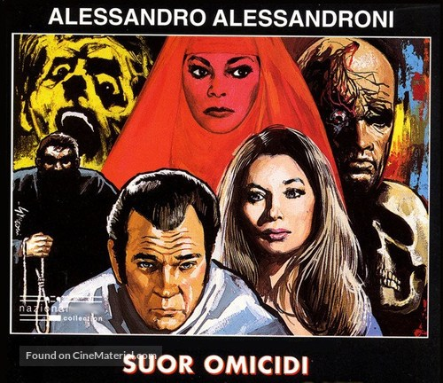 Suor Omicidi - Italian DVD movie cover