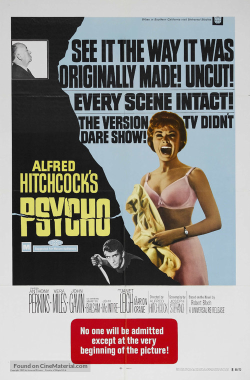 Psycho - Movie Poster