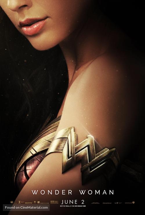 Wonder Woman - Movie Poster