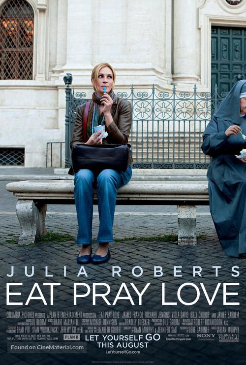 Eat Pray Love - Movie Poster