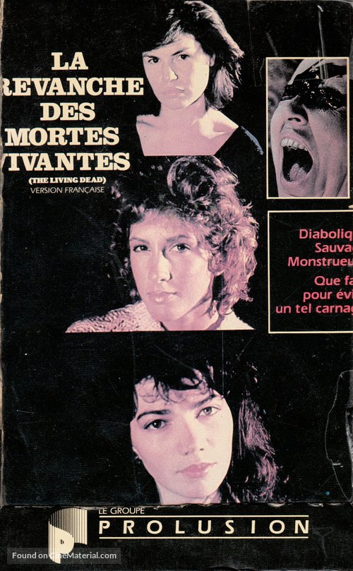 La revanche des mortes vivantes - Canadian VHS cover