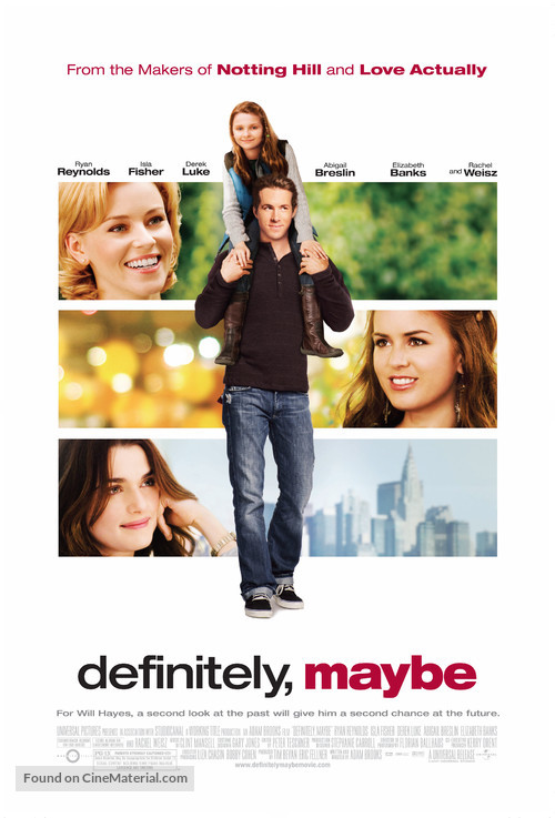 Definitely, Maybe - Movie Poster