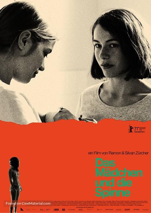 Das Mädchen und die Spinne - German Movie Poster
