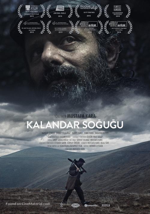 Cold of Kalandar - Turkish Movie Poster