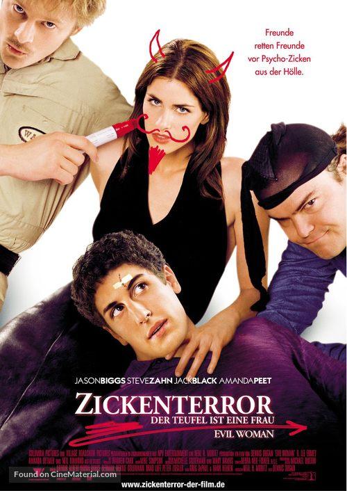 Saving Silverman - German Movie Poster