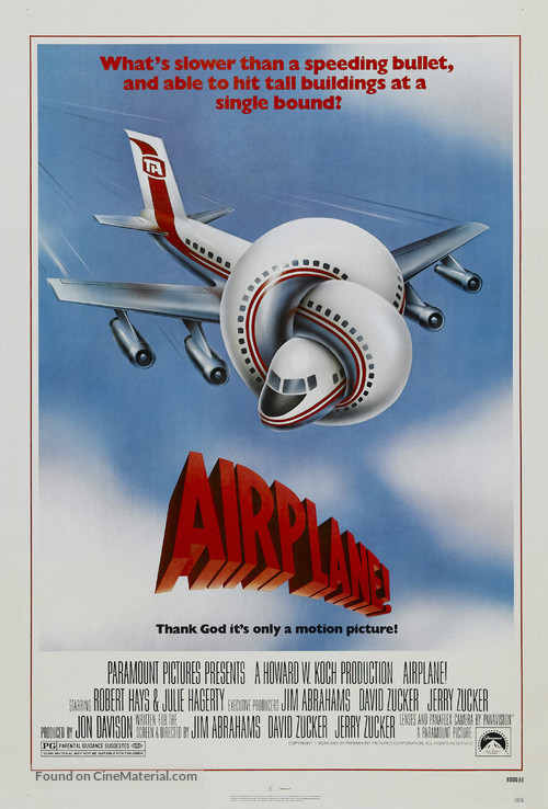 Airplane! - Theatrical poster