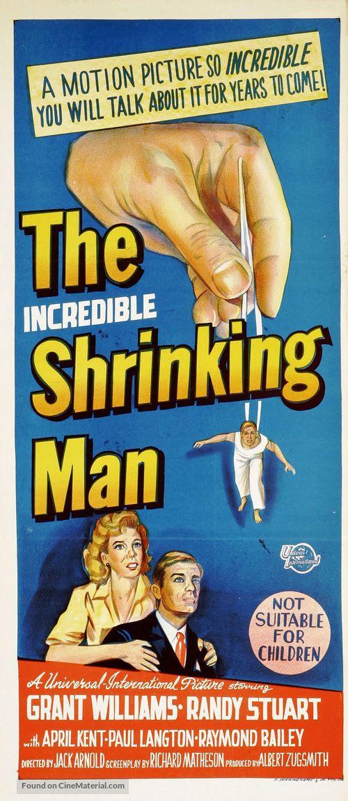 The Incredible Shrinking Man - Australian Movie Poster