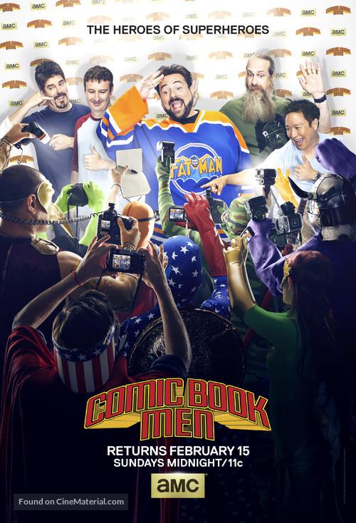 """Comic Book Men"" - Movie Poster"
