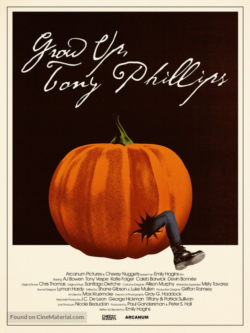 Grow Up, Tony Phillips - Movie Poster