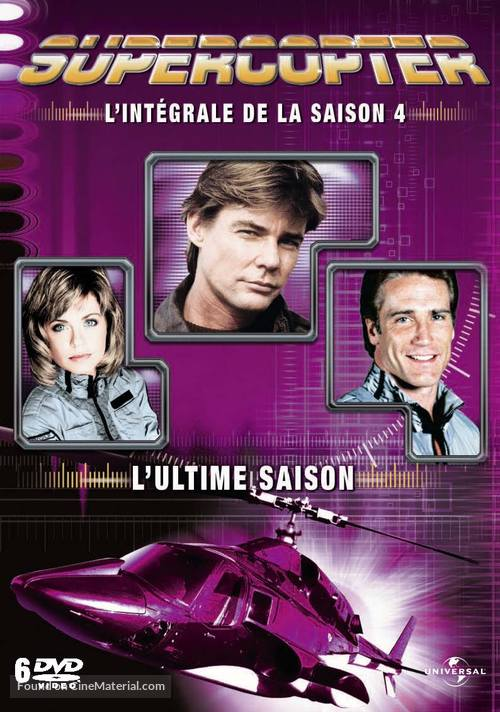 """""""Airwolf"""" - French DVD movie cover"""