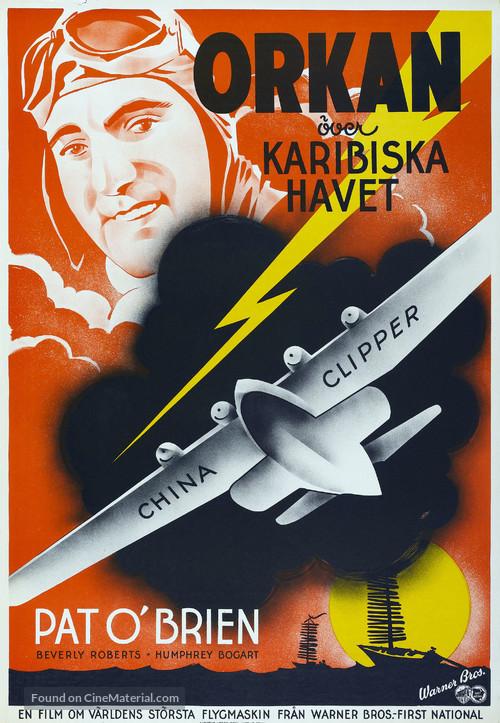 China Clipper - Swedish Movie Poster