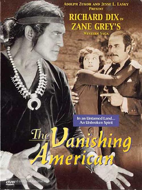 The Vanishing American - DVD movie cover