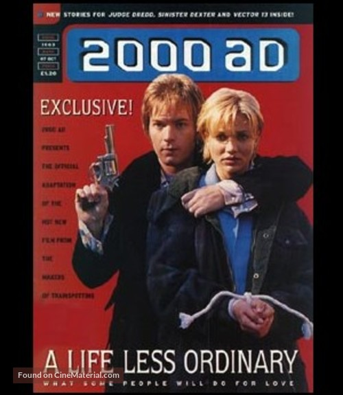 A Life Less Ordinary - poster