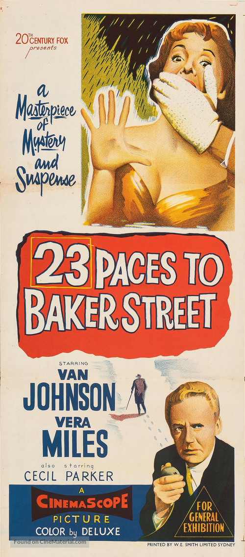23 Paces to Baker Street - Movie Poster