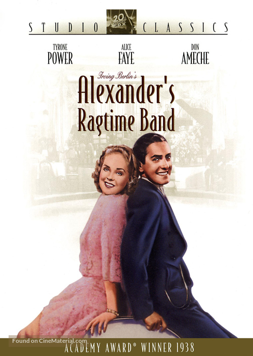 Alexander's Ragtime Band - DVD movie cover