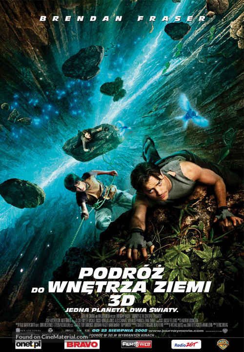 Journey to the Center of the Earth - Polish Movie Poster