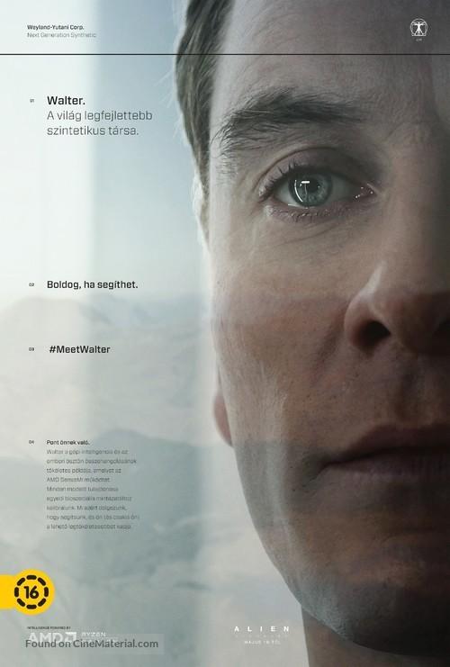 Alien: Covenant - Hungarian Movie Poster