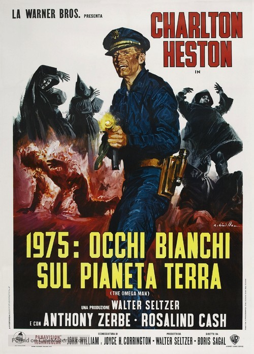 The Omega Man - Italian Movie Poster