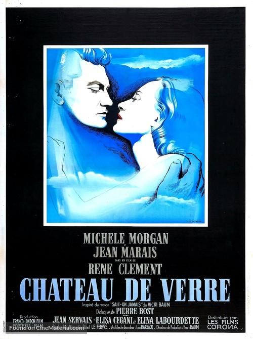 Château de verre, Le - French Movie Poster
