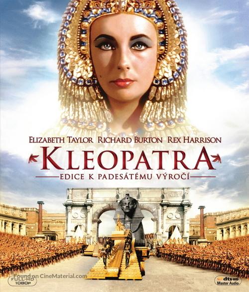 Cleopatra - Czech Blu-Ray movie cover