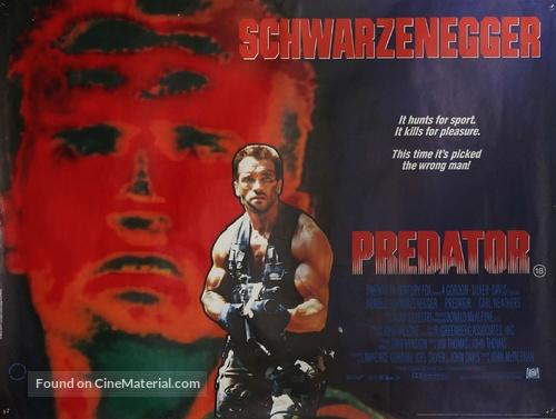 Predator - British Movie Poster