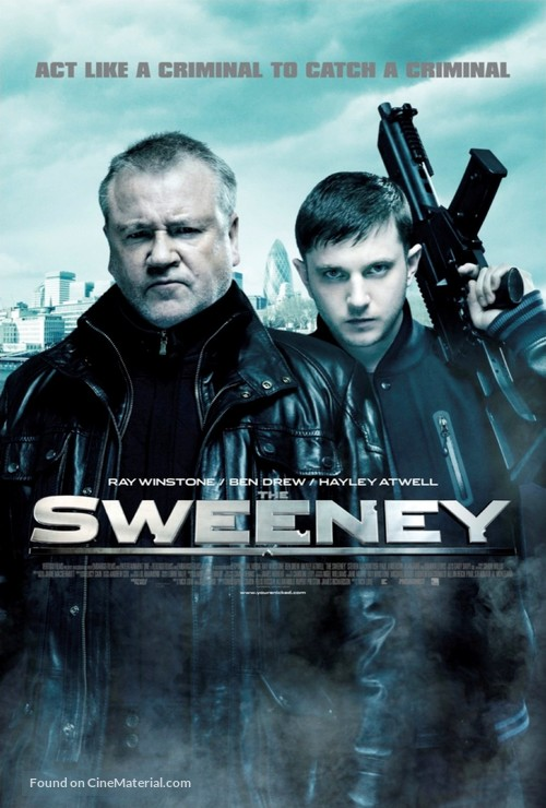 The Sweeney - British Movie Poster