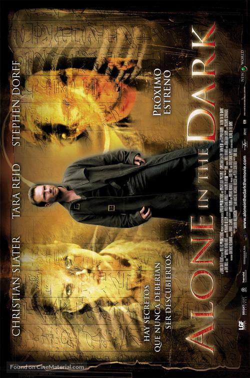 Alone In The Dark 2005 Spanish Movie Poster