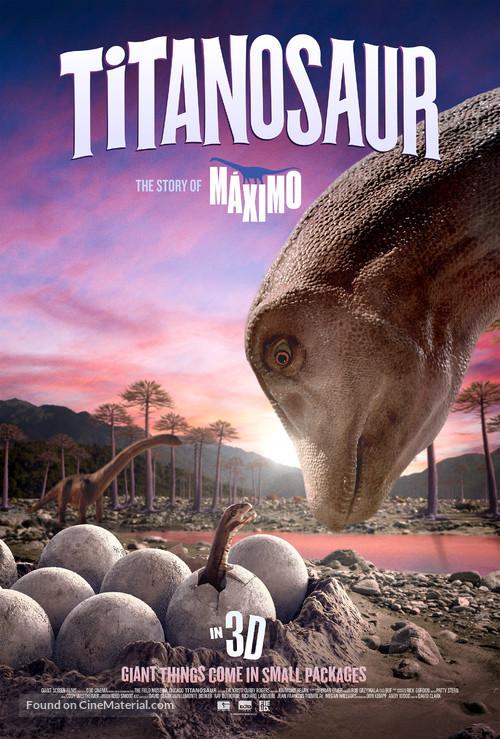Dinosaur Island Titanosaur - Movie Poster